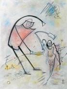 Picturi abstracte/ moderne Lasa-ma sa zbor! nu ma sufoca!