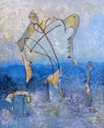 Picturi abstracte/ moderne Metamorfoza copacului