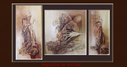 Picturi abstracte/ moderne AGONIE SI EXTAZ---Y777