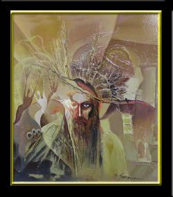Picturi abstracte/ moderne aparitie divina--xxx1