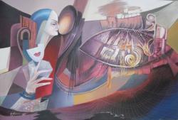 Picturi abstracte/ moderne au fos prinsi in plasa destinului