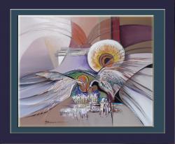 Picturi abstracte/ moderne cer rasturnat --ii3