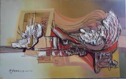 Picturi abstracte/ moderne  universul inocentei--8ss1