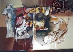 Picturi abstracte/ moderne destine spatiale---h332