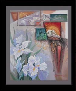 Picturi cu flori flori cu alb nevinovat z
