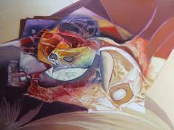 Picturi abstracte/ moderne formarea planetelor--z00