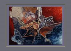 Picturi abstracte/ moderne forme de viata in galaxie-7h