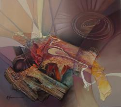 Picturi abstracte/ moderne imbratisari ceresti--k554