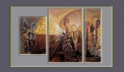 Picturi abstracte/ moderne initiatii---99m