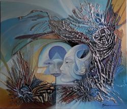 Picturi abstracte/ moderne laborator galactic--x00190