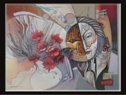 Picturi abstracte/ moderne leganare de clipe-99m