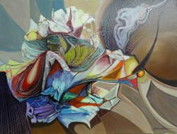 Picturi abstracte/ moderne magi in centrul universului