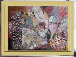 Picturi abstracte/ moderne Magii aseaza stelele pe cer-------49