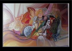 Picturi abstracte/ moderne magii au schimbat poarta stelara