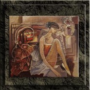 Picturi abstracte/ moderne Miscare gratioasa--263