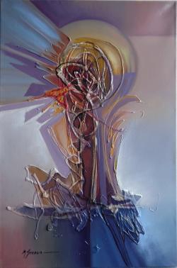 Picturi abstracte/ moderne miscare in spatiu--8v1