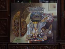 Picturi abstracte/ moderne misterul de nepatruns  --xxx9