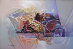 Picturi abstracte/ moderne paradisul astrelor--f55