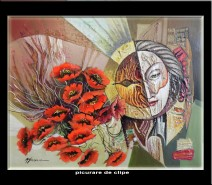 Picturi abstracte/ moderne Picurare de clipe
