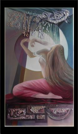 Picturi surrealism  picurare de clipe 2-88w