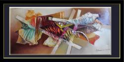 Picturi abstracte/ moderne rauri de culori--77y