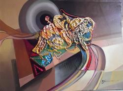 Picturi abstracte/ moderne stapanul universului--99