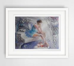 Picturi abstracte/ moderne suflet cu har divin  1
