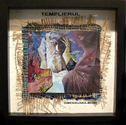 Picturi abstracte/ moderne templierul   varianta nua  11