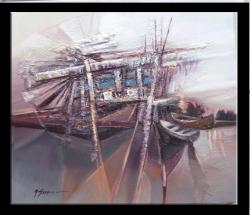 Picturi maritime navale marina  barci lamal--99b