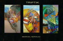 Picturi abstracte/ moderne Triptic---86