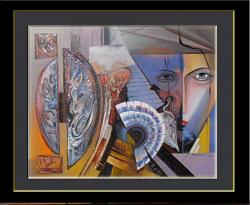 Picturi abstracte/ moderne varianta noua   dedublarea sufletului