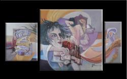 Picturi abstracte/ moderne vis invaluit in plasa destinului