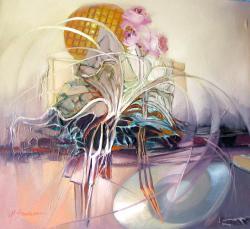 Picturi abstracte/ moderne zbor catre univers--ibb