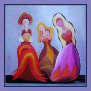 Picturi abstracte/ moderne ,,madonnine-3,,