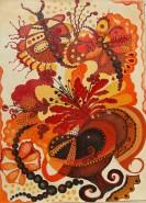 Picturi abstracte/ moderne Libelule