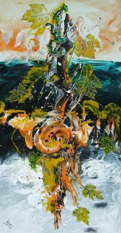 Picturi abstracte/ moderne Acolo unde arborii soptesc