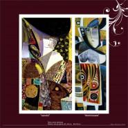 Picturi abstracte/ moderne Sarutul domnisoara