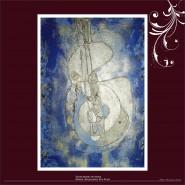 Picturi abstracte/ moderne Sunet albastru de chitara