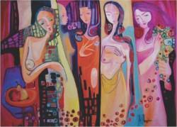 Picturi abstracte/ moderne Ursitoarele