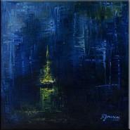 Picturi abstracte/ moderne Lumina albastra