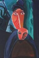 Picturi abstracte/ moderne Mama si fiul