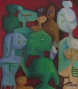 Picturi abstracte/ moderne Multimea