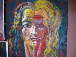 Picturi abstracte/ moderne Dubla identitate