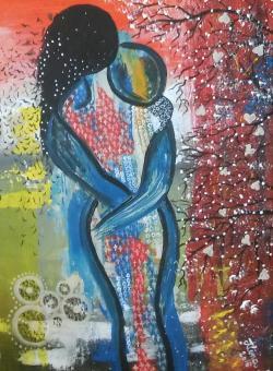 "Picturi abstracte/ moderne ""Dor"""