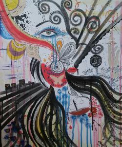 "Picturi abstracte/ moderne ""Emotii"""