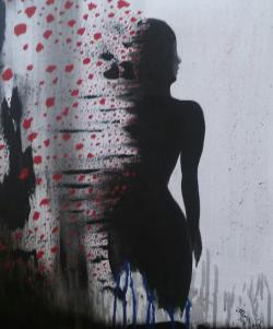 """Picturi abstracte/ moderne """"In love"""""""