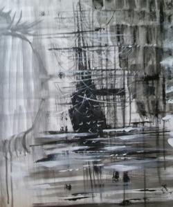 """Picturi abstracte/ moderne """"Stay"""""""