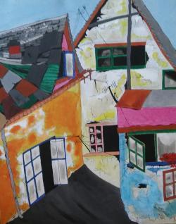 "Picturi abstracte/ moderne ""Vechituri"""