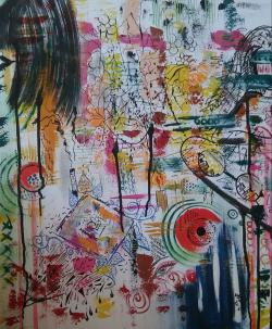 "Picturi abstracte/ moderne ""Vise 2"""