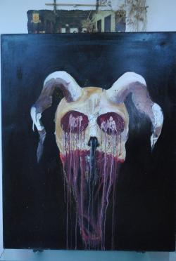 Picturi abstracte/ moderne The Deamon